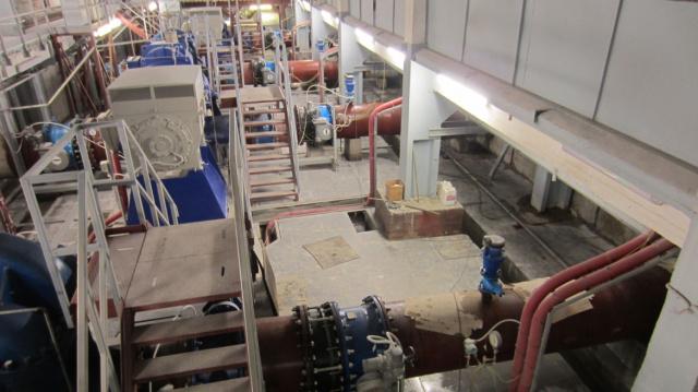 Реконструкция здания системы управления водоснабжением